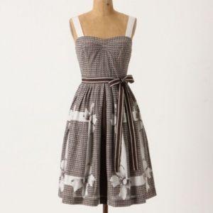 Anthropologie Edme  & Esyllte Annona Print Dress 0